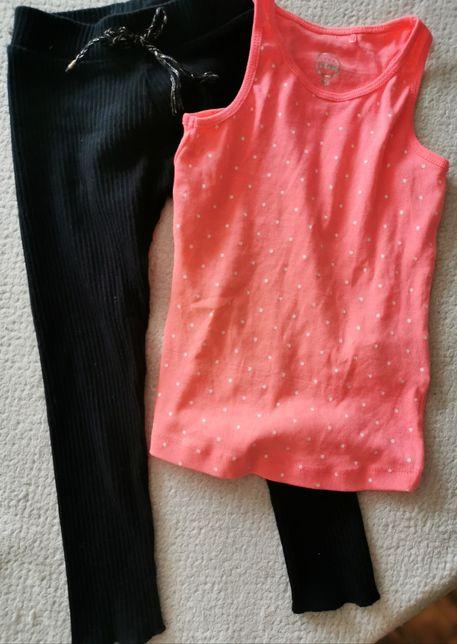 Komplet Leginsy koszulka  Zara hm next Zara
