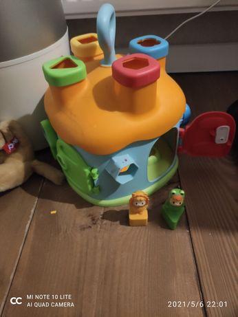 Сортер игрушечный домик smoby