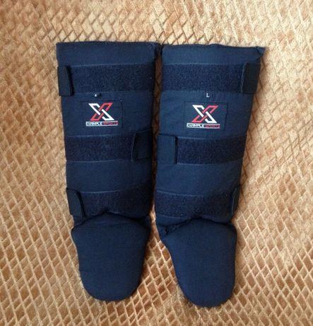 Example Sports футы защита голени стопы ног для единоборств размер L