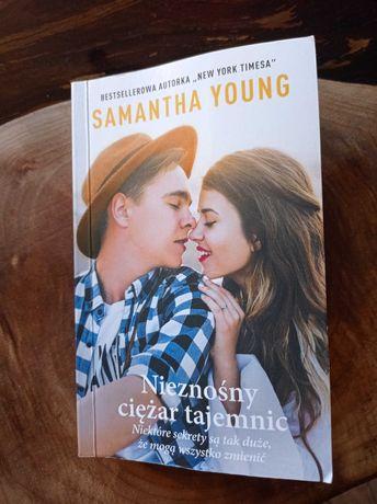 Książka Samantha young Nieznośny ciężar tajemnic