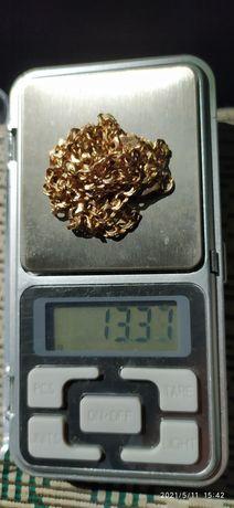 Золотая цепочка плетение бисмарк