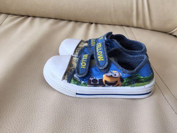 Buty buciki tenisówki rzepy rozmiar 24/15 cm