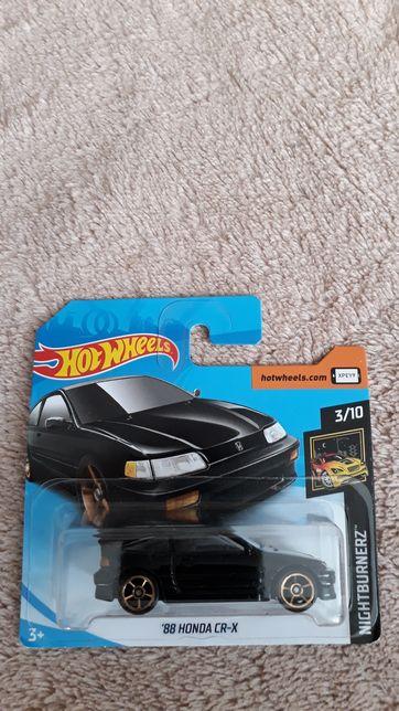 Samochodzik Hot wheels Honda cr-x '88 nightburnerz