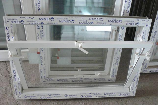 Okno inwentarskie, gospodarcze, chlewnia, szyba zespolona 60x60