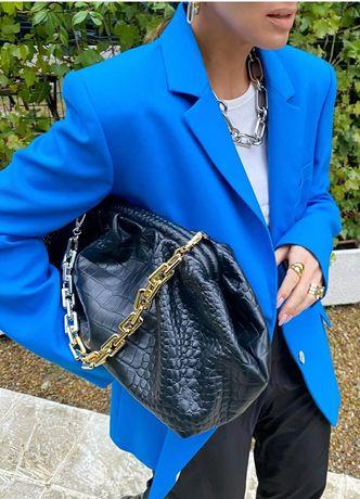 Niebieska marynarka Zara L