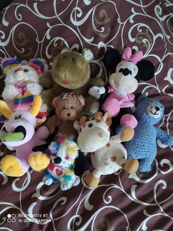 Игрушки мягкие, іграшки