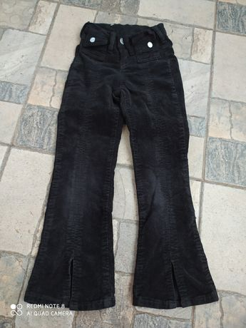 Вельветові брюки кльош