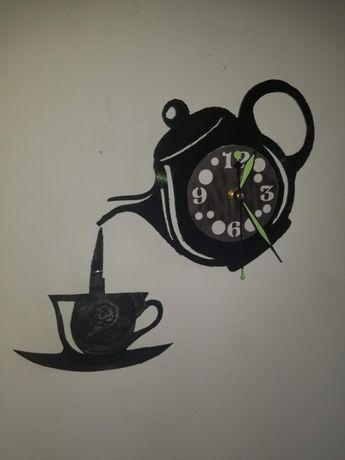 Relógio de Parede em Vinil - HORA DO CHÁ