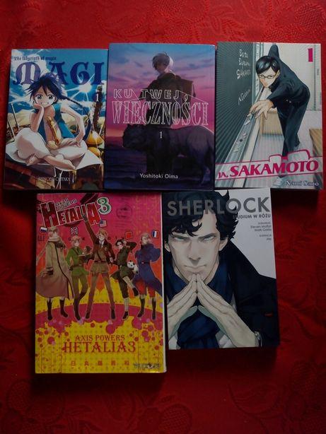 MANGI: Magi, Sherlock, Hetalia, Ja,Sakamoto, Ku twej wiecznosci !HIT!