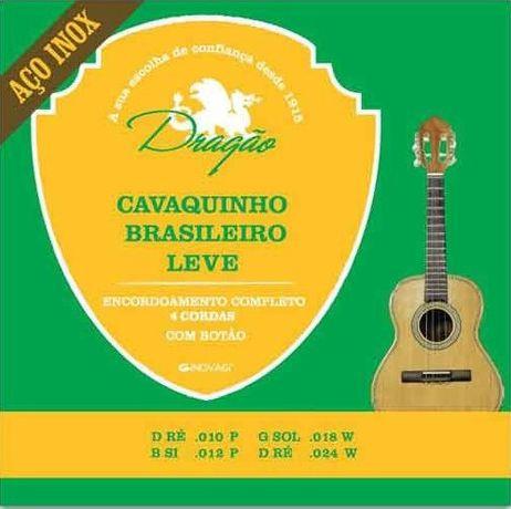 J. Cordas Dragão p/Cavaquinho Brasileiro Leve