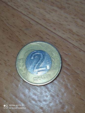 Продаю 2 злотых (Польша) 2009 года выпуска