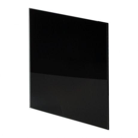 Kratka wentylacyjna: Front + ramka Trax PTGB100P szkło czarny