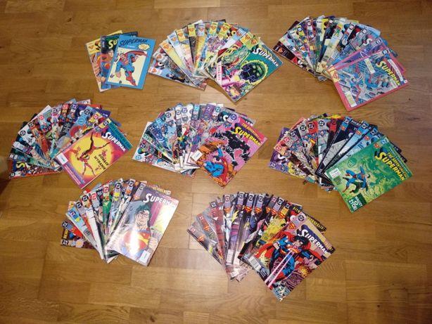 Superman cala kolekcja na roczniki 90,91,92,93,94,95,96 97,98