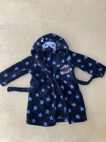 Тёплый халатик для малыша