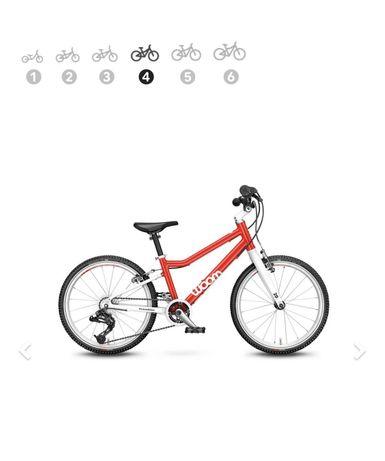 Rower Woom 4 czerwony, niebieski, zolty nowy model 2021