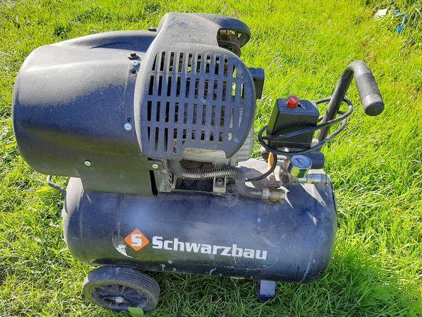 Kompresor Schwarzbau 50 L 2 TŁOKI DO POPRAWEK