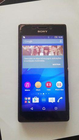 Sony Xperia M2 a funcionar