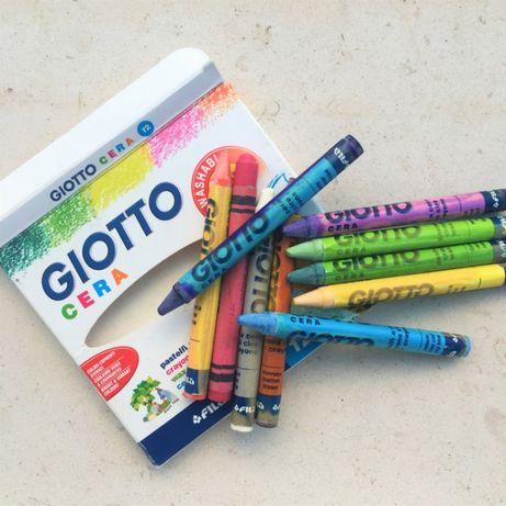 Conjunto Lápis De Cera - GIOTTO