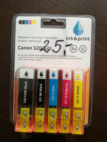 Tusz do drukarki Canon 520/521