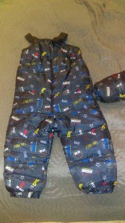 spodnie na zimę dla chłopca 92rozmiar