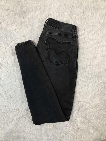 Spodnie jeansy Levis damskie W29 L34 szare