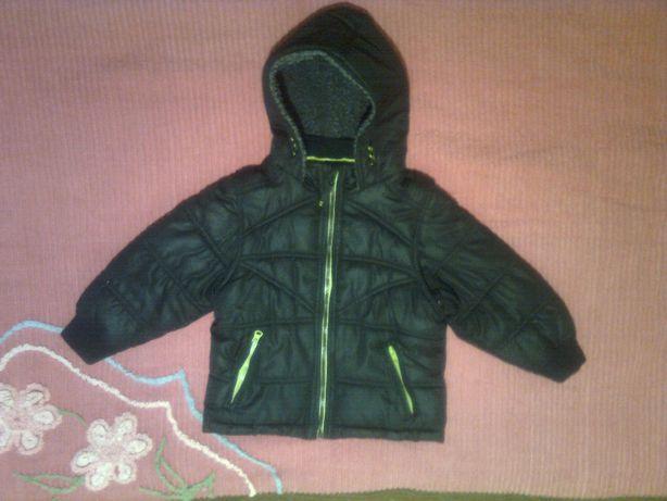 2 в 1: куртка-жилетка на флисе 4-5л курточка