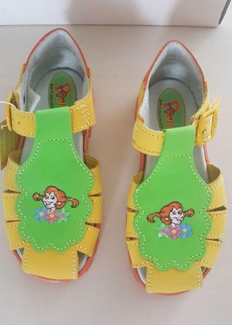 Sandały skórzane włoskie Pippi 29