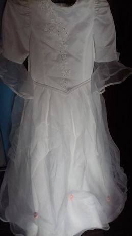 Komunia sukienka dla dziewczynki