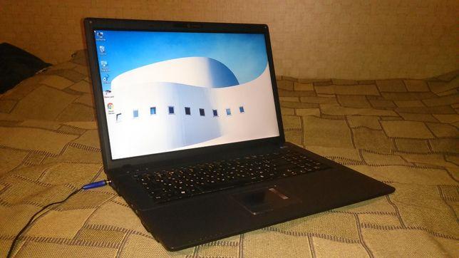 Ноутбук Clevo m77s , 17 дюймов
