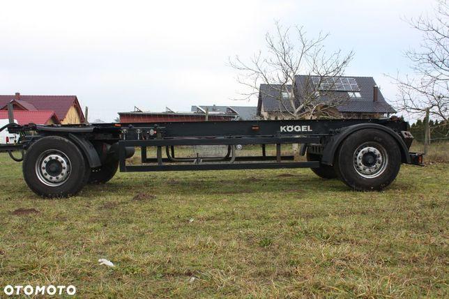 Kögel BDF  przyczepa bdf, rama, szeroka rama, dmc 18 ton