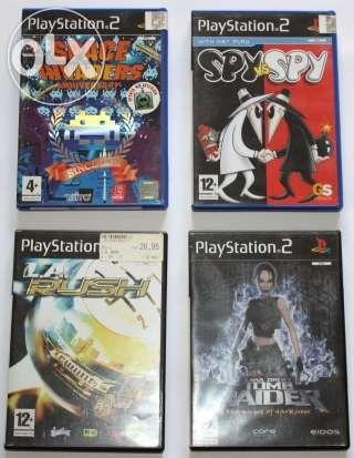 Vários Jogos Playstation2
