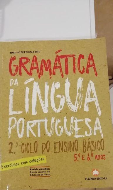 Gramática Portuguesa caderno exercicios