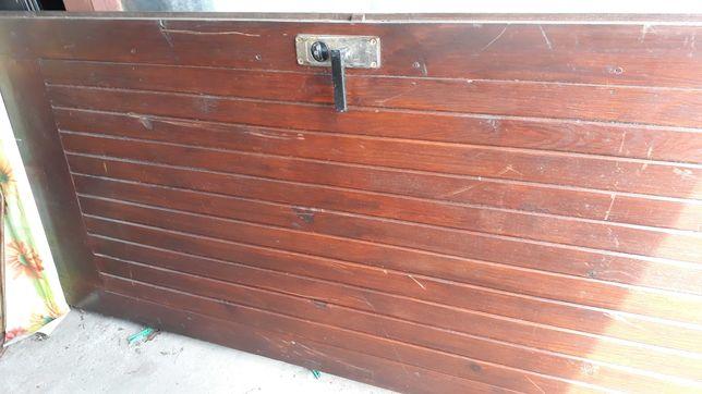Drewniane drzwi 90x200.