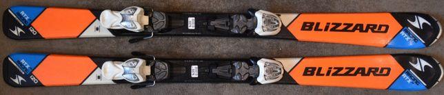 Narty dziecięce Blizzard Racing RTX 120 cm (N31)