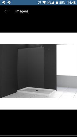 Vidros fixo duche 2000×1000
