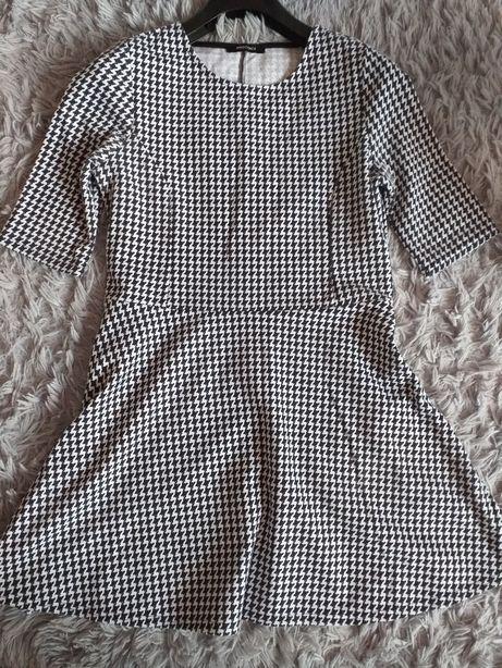Sukienka pepitka M