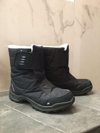 Buty śniegowce wodoodporne decathlon 37