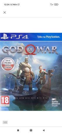 God of war PS4 gra w idealnym stanie(sprzedam lub zamienię)