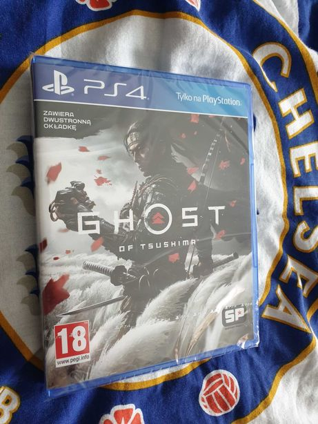 Ghost of Tsushima PS4 i PS5 PL NOWA