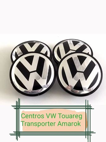 """Centros de Jante VW Amarok, Touareg, Transporter """"Novos"""""""