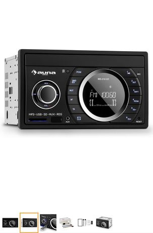 Автомагнитола с Германии Аuna. Новая! 2DIN.  Bluetooth,FM,USB,SD,AUX