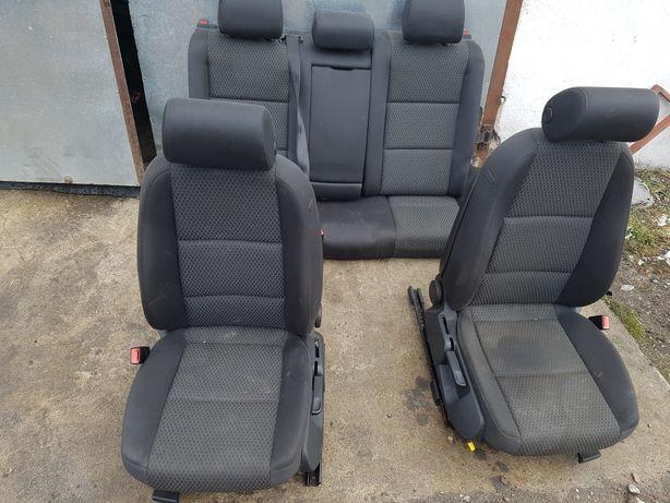 Audi a6 c6 sedan komplet foteli przód i tył grzane