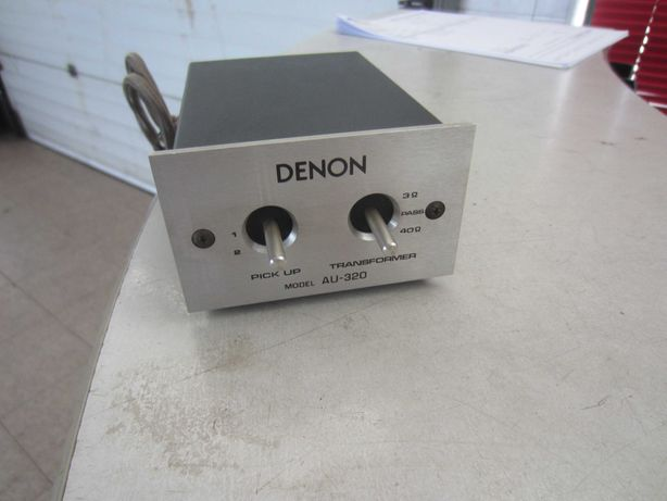 Denon AU-320 MC step up transformer