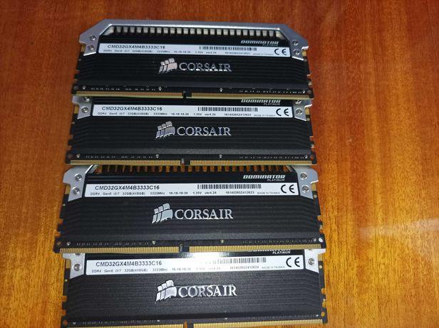 Corsair Dominator Platinum 32GB (4x8GB) DDR4 3333MHz C16