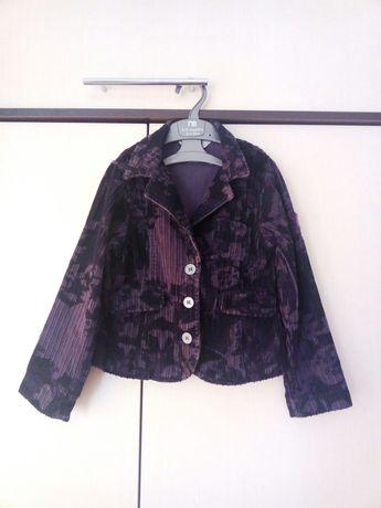 Пиджак для девочки 116-122