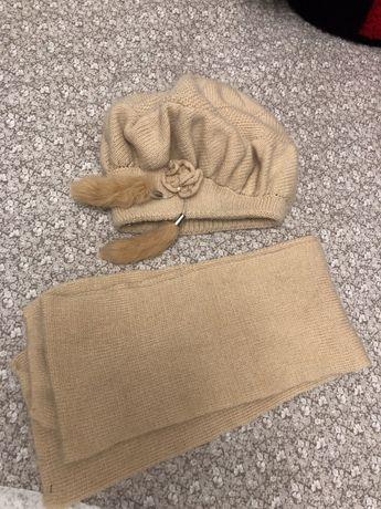 Берет та шарф. Зимовий комплект