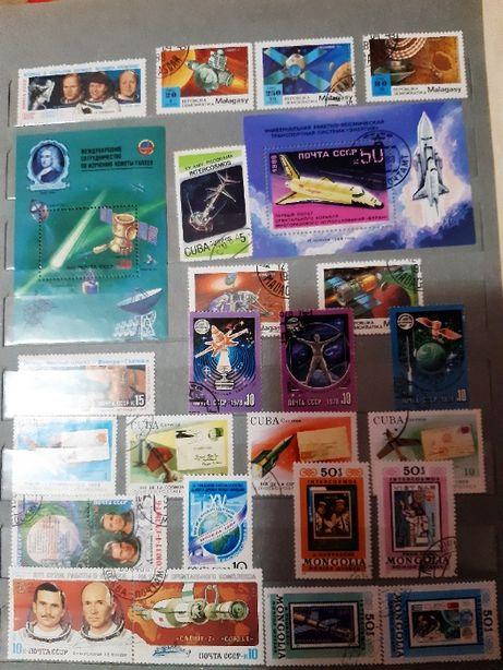 Почтовые марки Куба, Монголия