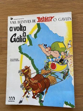 Livro Asterix Antigo