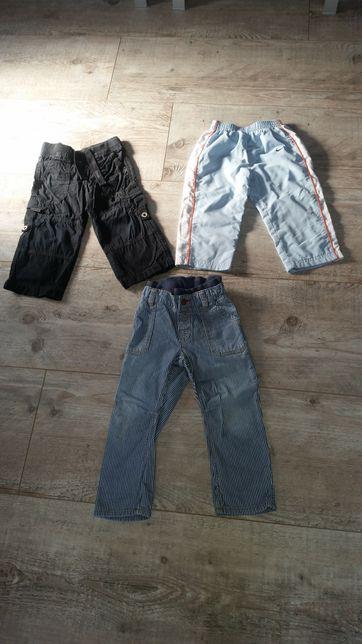 Spodnie chłopięce rozmiar 92