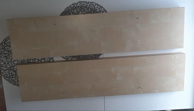 Ikea lack półka 110 cm 2 szt. brzoza